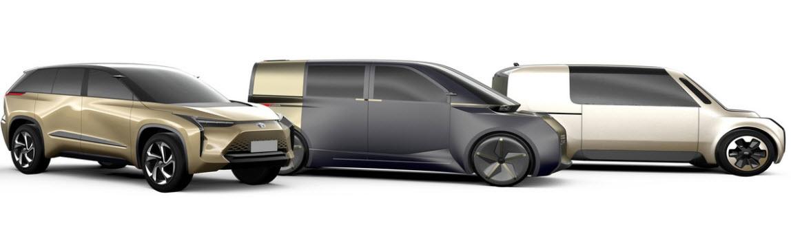 Электромобили от Toyota