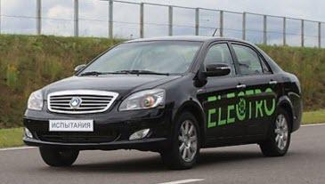 Белорусский электромобиль