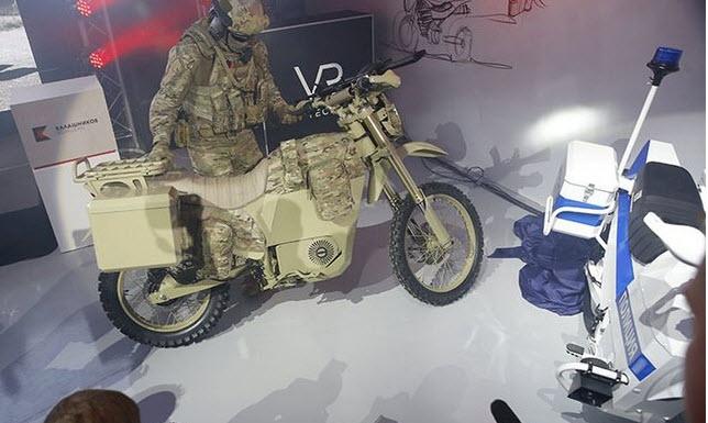 Электромотоцикл Калашников