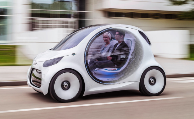 Электромобиль от Daimler