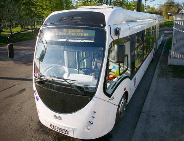 Электрробус - транспорт будущего