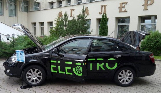 Белоруссикий электромобиль